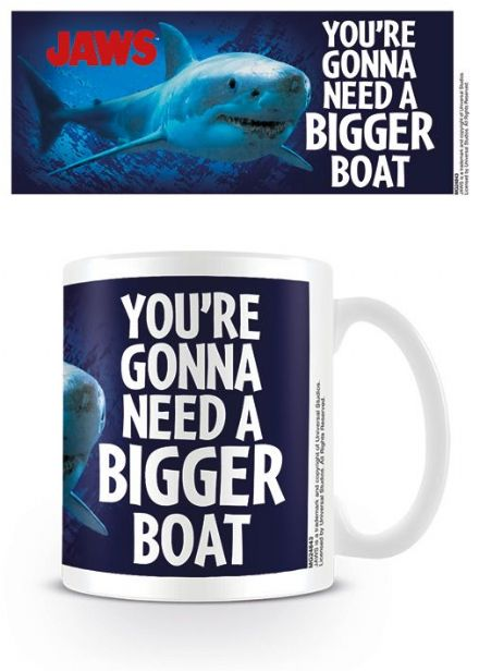 Jaws You're Gonna Need A Bigger Boat Coffee Mug